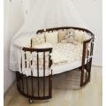 Кроватки овальные/круглые